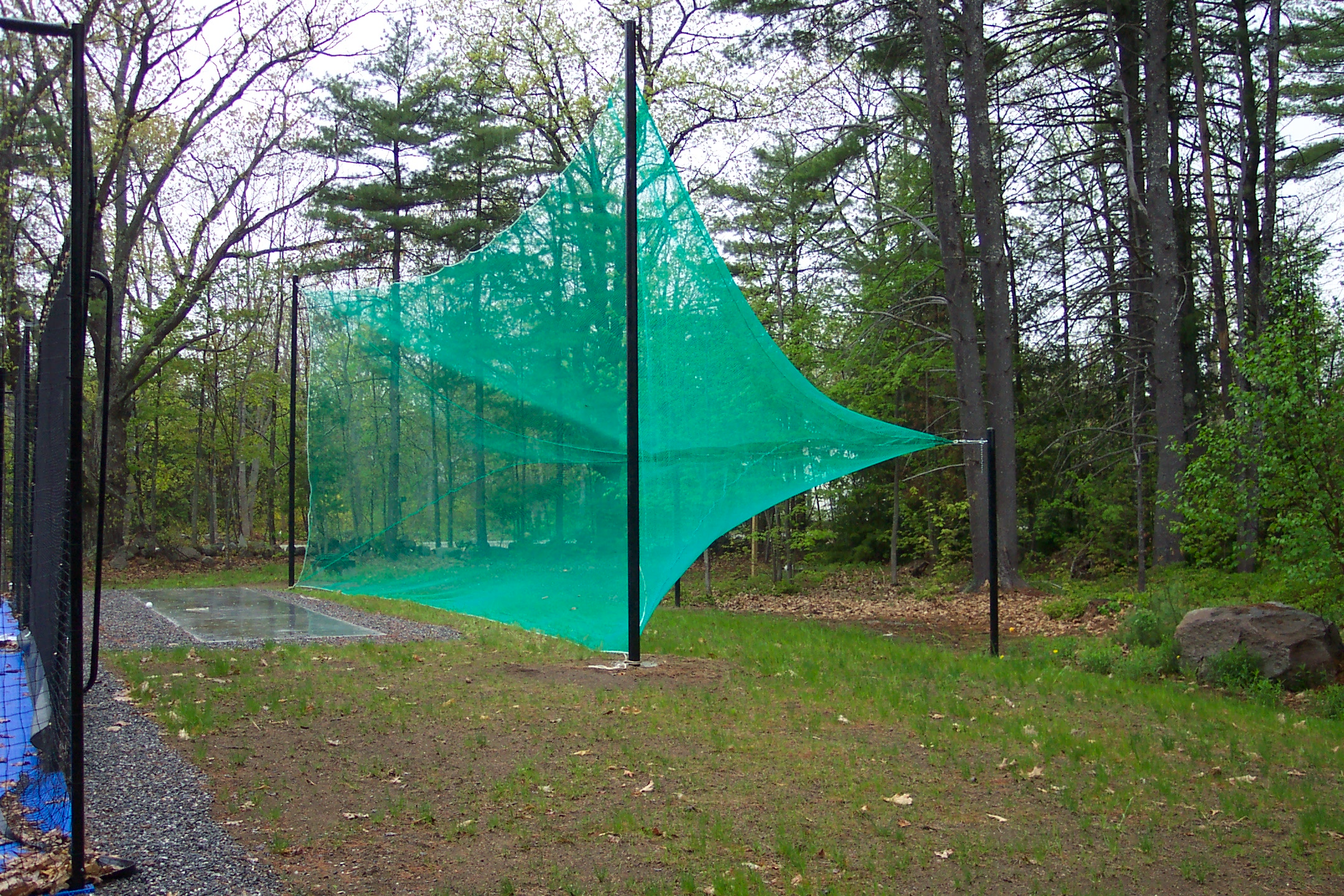 Backyard Driving Range vermont custom nets golf - vermont custom nets